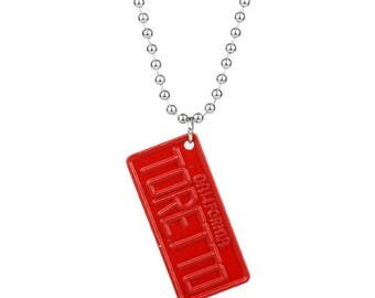 Fast and Furious collana targa Toretto 4X2 cm tag necklace