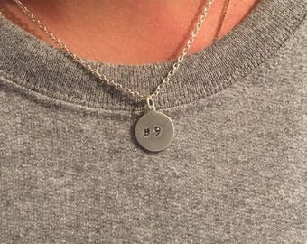 small circle necklace no charm