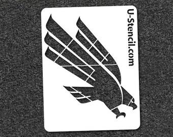 North Texas Eagle – Mini Stencil