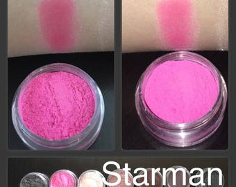 Starman Hot Pink Loose Mineral Powder Eyeshadow