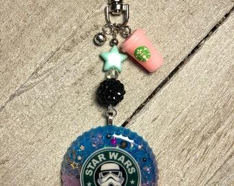 S.W. Coffee Keychain