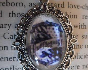 Hufflepuff Harry Potter Cabochon Necklace