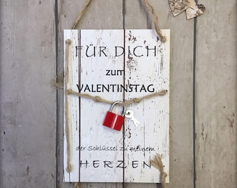 Valentine's Day & key to the Heart