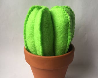 SALE Cactus Decoration, Pin Cushion, Cactus Pin Cushion, Succulent Home Decoration, Sewing Notions, Felt Cactus, Felt Pin Cushion