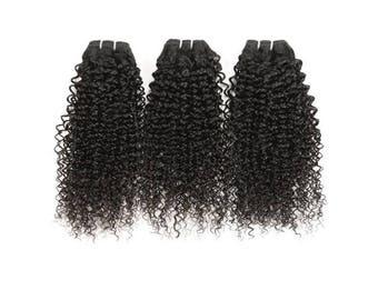 Peruvian Kinky Curl Hair