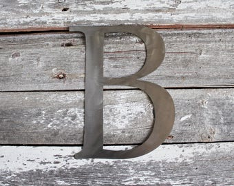 Individual Metal Letters Metal Words  Etsy