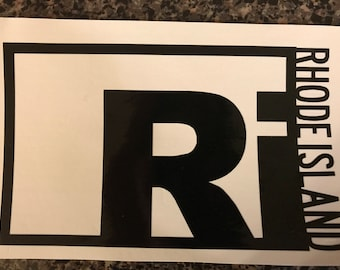 Rhode Island vinyl decal
