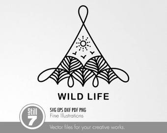 Wild Life #1 svg eps dxf pdf png