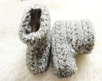 WOOL slippers Women men home shoes Winter slippers Warm gift Fur sock slippers natural shoes woolen slippers christmas gift
