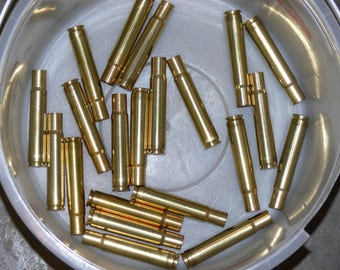 35 Whelen once fired brass - 21 count