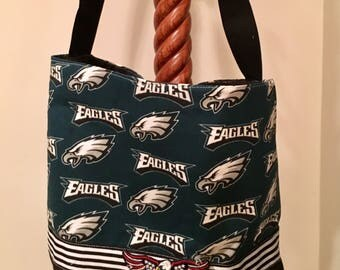Philadelphia Eagles Fly! Championship purse/tote