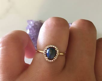 boho ring moonstone ring promise ring halo ring cheap rings jewelry - Cheap Wedding Rings For Her