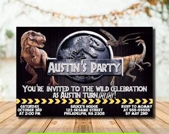 Jurassic world Etsy