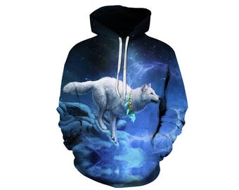 Wolf Hoodie, Wolf, Wolf Hoodies, Animal Prints, Animal Hoodie, Animal Hoodies, Wolves, Hoodie Wolf, Hoodie, 3d Hoodie, 3d Hoodies - Style 7