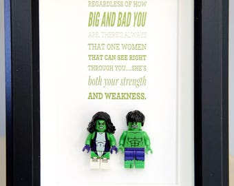 Lego, Hulk, superhero, gift, daddy, gift for him, lego minifigures, superhero lego, father's day gift, anniversary,inspired by LEGO