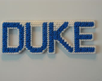 DUKE in Handmade, Needlepoint Magnets