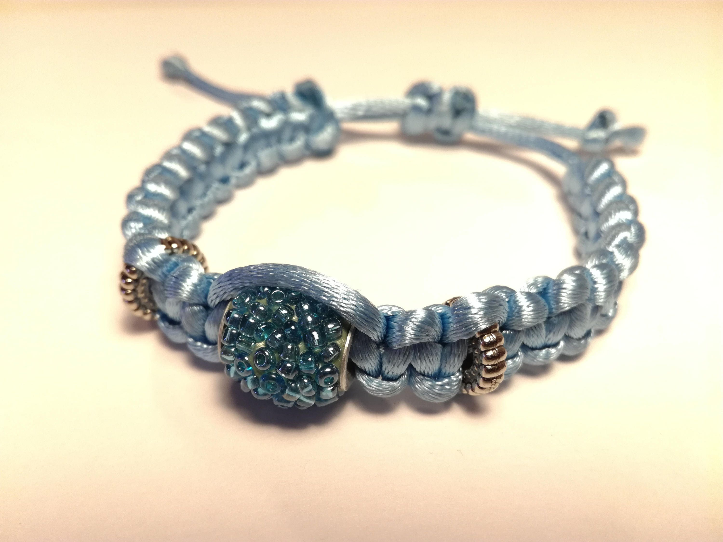 azha en vendor blue bracelet ault light shahada adult hadiya