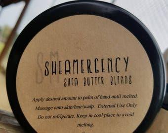 8oz SheaMergency Shea Butter