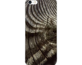 Wood Pattern /Original Photography/ iPhone Case/ Black and White/ Stripes Pattern