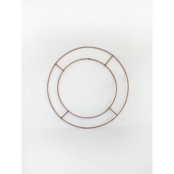 4 x wire frame flat rings 12 inch wreath making crafts for 3 inch rings for crafts