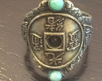 Chinese Coin Lucky Money Ring