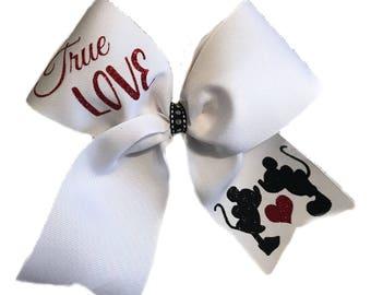 True Love Mickey & Minnie Bow