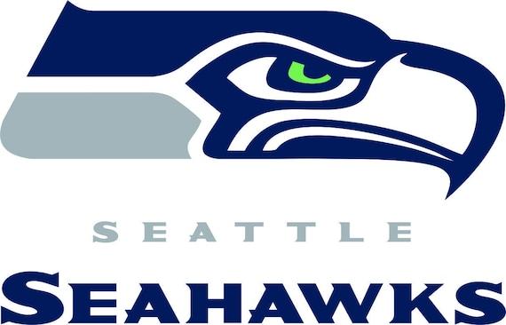 Seattle Seahawks Svg Dxf Logo Silhouette Studio Transfer