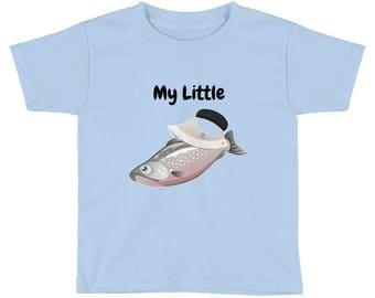 Kids Short Sleeve T-Shirt My Little fishcutter