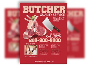 Butcher Flyer