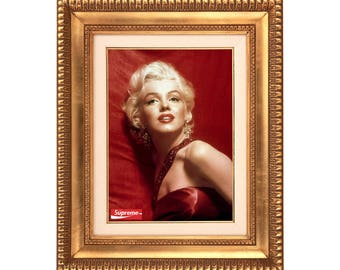 Supreme Coca Cola Box x Marilyn Monroe Poster or Art Print