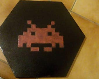 Space Invaders slab