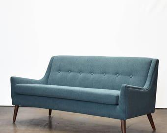 Rex modern love seat sofa