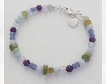 Children's Mixed Stone Bracelet