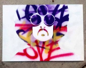 Prince - Spray Paint Art