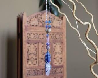 Majesty- Rose quartz and Lapis Lazuli