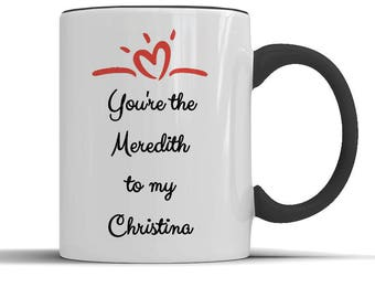 Grey's Anatomy, greys anatomy fan, greys anatomy gift, greys anatomy mug, greys anatomy tv, greys quotes, gift for her, gift for him