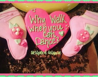 Ballerina Cookies, Ballet Cookies, Dance Recital Cookies, Recital Cookies