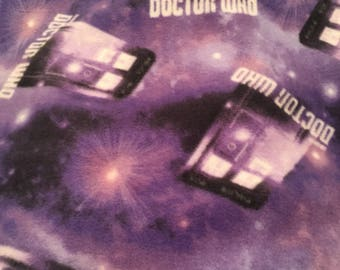 Doctor who Blanket purple