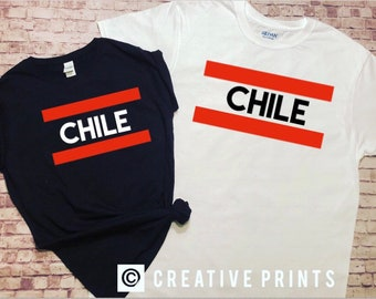 Chile World cup soccer game time T shirt mundial