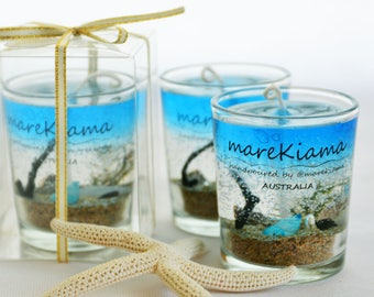 Set of 3 Under-The-Sea Scented Gel Candles (#SS-G1)