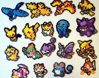 Pokemon Icon Perlers