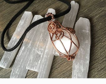 Selenite Pendant ** SOLD OUT **