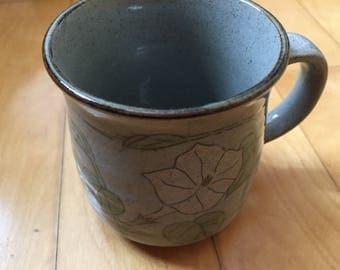 Handmade ceramic mug by disabled student