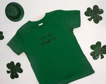 Lucky Charm infant & toddler Tee