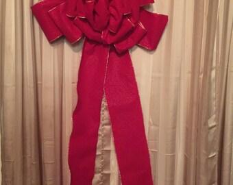 "6"" Christmas Tree Bow"