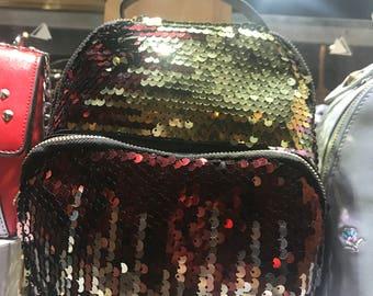 Sequins mini backpack
