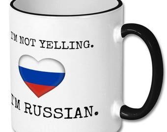 Russian funny mug,Russian coffee mug,Russian jokes,Russian friend,Russian pride,Russian quotes,Russian origin,Russian student,from Russia