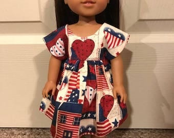 Wellie Wisher patriotic dress