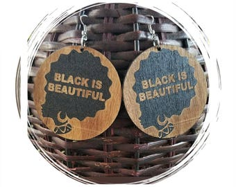 Black Is Beautiful Earrings