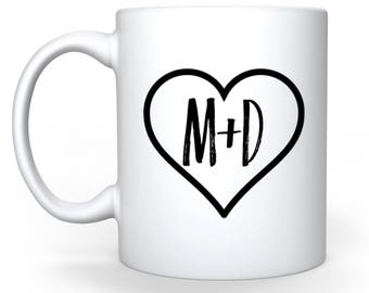 Cup to customize (initials)